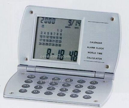 Excel Clock W/Travel Alarm