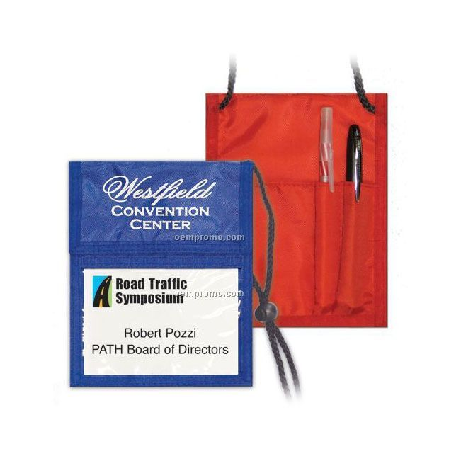 Executive Pouch Id Card Holder