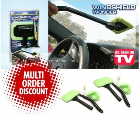 Foldable Vehicle Windshield Brusher Set
