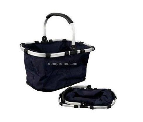 Foldable basket,picnic basket, shopping basket,camping basket