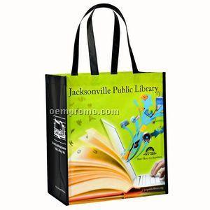 Full-Color Custom Laminated RPET Promotional Shopping Bag