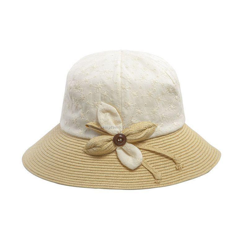 Girl`s lovely bucket hat