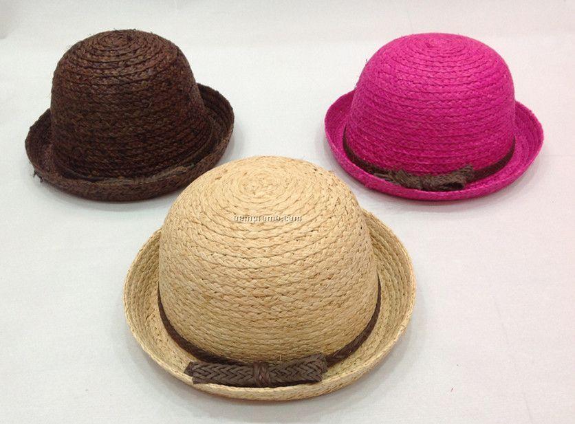 Girls` Twisted Toyo Hat