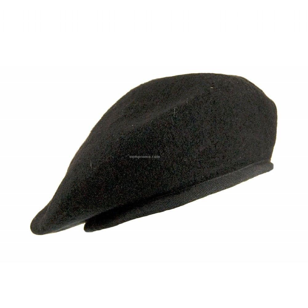 Grey military beret