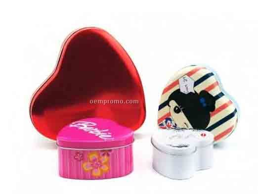 HEART TIN CAN
