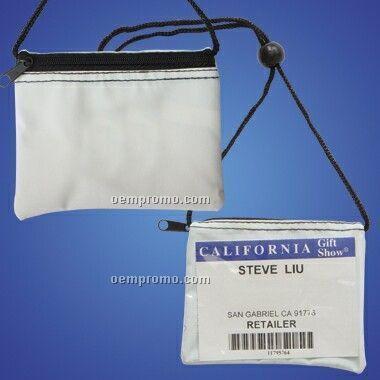 Handy Wallet Size Zippered Pocket