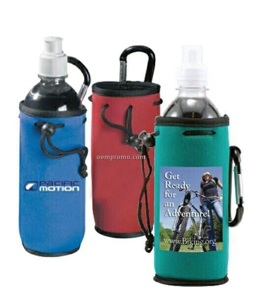 Harbor Water Bottle Tote With Bottled Water