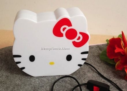 Hello Kitty Night Lamp With Coin Bank Function