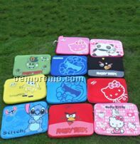 Hello Kitty Or Doraemon Laptop Sleeve