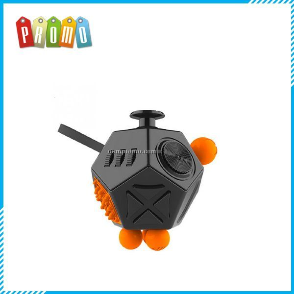 High Quality Fidget Cube 12 Sides Shenzhen Supplier