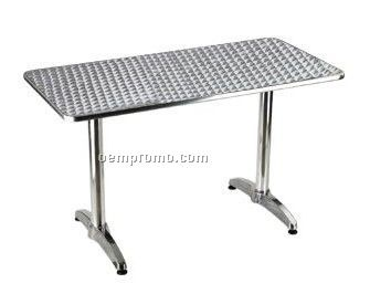 High quality aluminum table