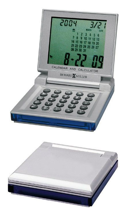 Howard Miller Ez-blue Travel Alarm Clock (Blank)
