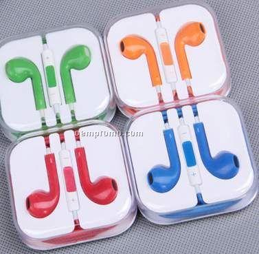 Iluv - Headphones / Earphones Bubble Gum II Earphones-yellow