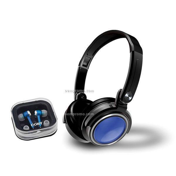 Jammerz Digital Stereo Headphone W/ Bonus Earphones & Carry Case