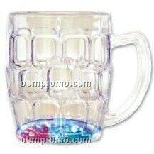 Light-up Beer Mug W/ Blinking Modes (Printed)