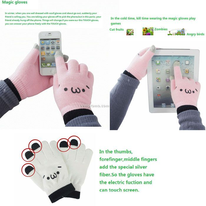 Magic ITOUCH gloves