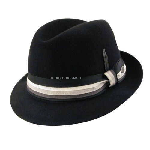 Men`s wool fedora