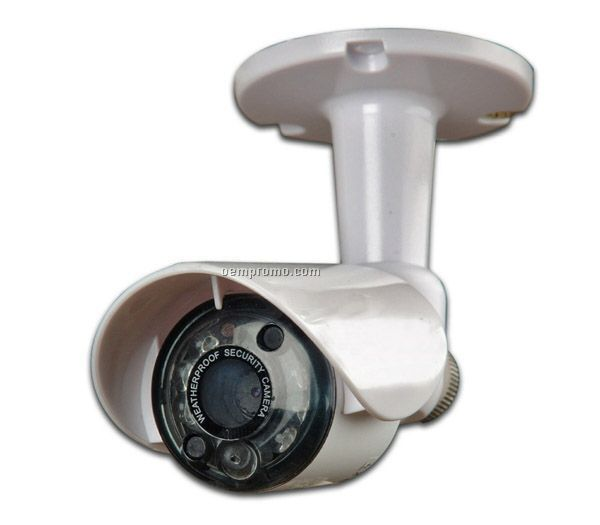 Mini Indoor/ Outdoor Color Surveillance Camera W/ Night Vision