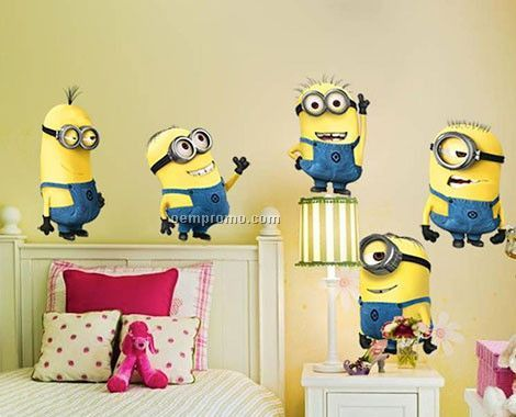 Minion Wall Decals
