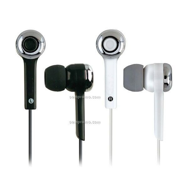 Mp3 Super Bass Digital Stereo Earphones W/ Volume Control