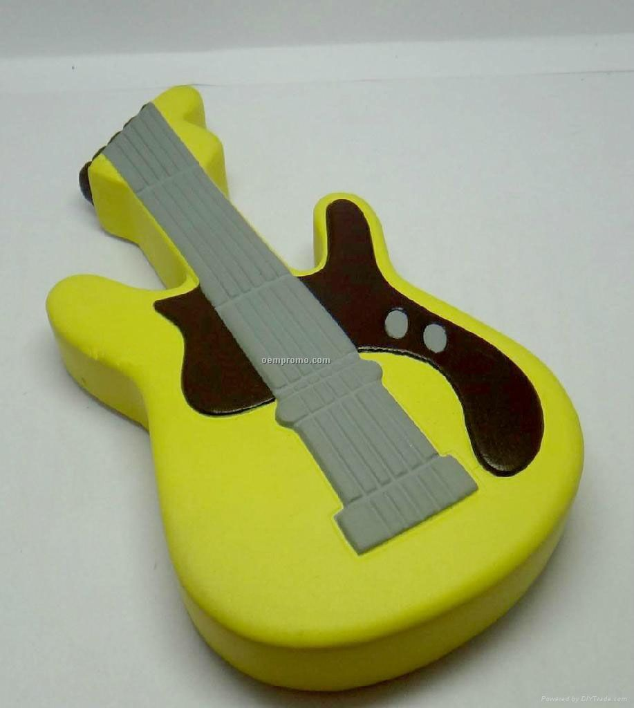 PU guitar stress ball, PU toy
