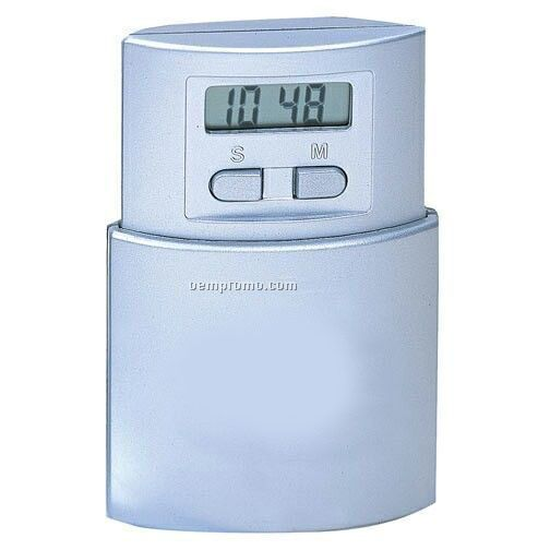 Pop-up Lcd Alarm Clock