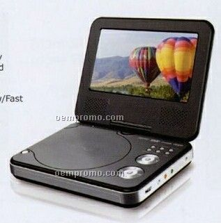 Portable DVD/Mp3 Player With 7