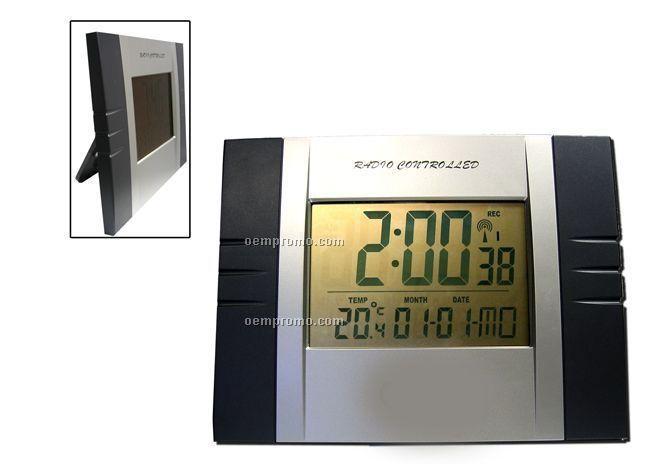 Radio Controlled Wall & Desk Clock