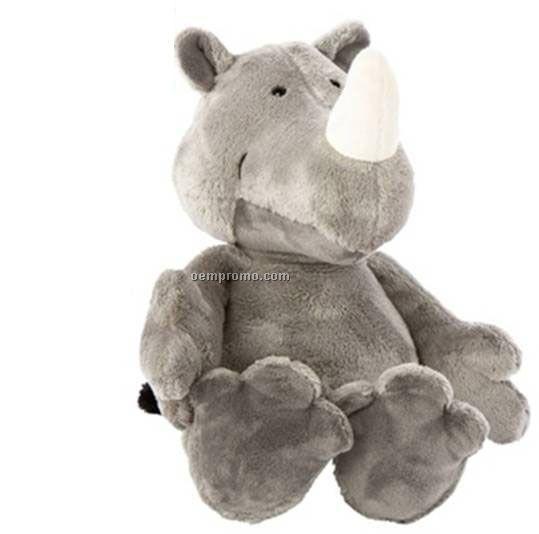 Rhino Supersoft Stuffed Animal