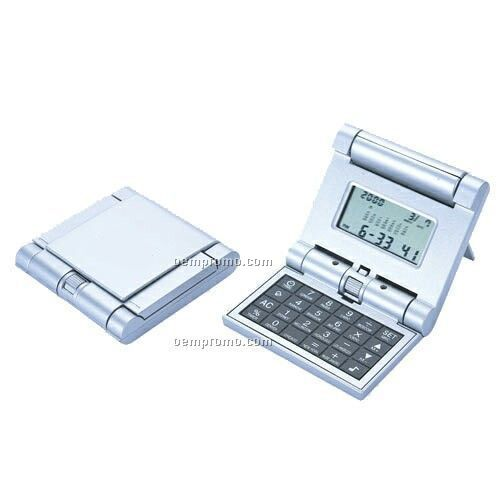 Robotic Flip Top Cover World Time Calculator