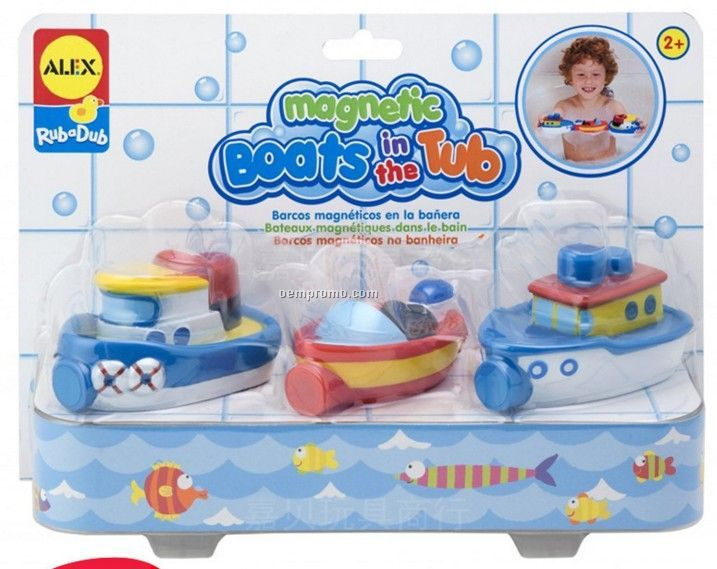 Rubber Tug Boat Toys