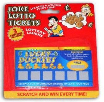 Scratch Off Cards - Cash Card (6