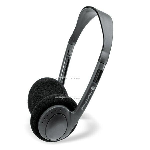 Slim Lightweight Stereo Headphones