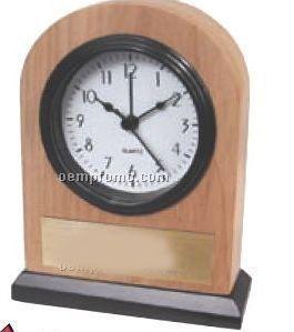 Solid Ash Wood Alarm Clock