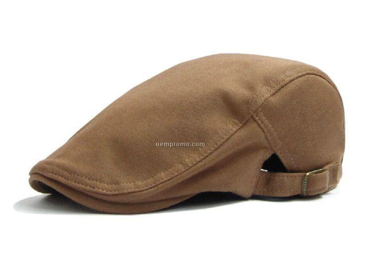 Solid woolen beret