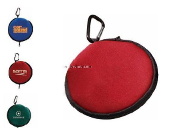 Speaker Carabiner CD Case