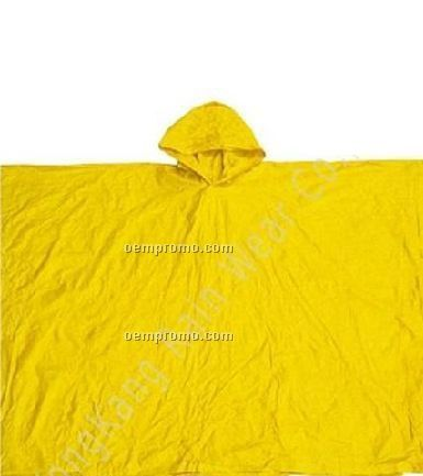Square Poncho With Hood