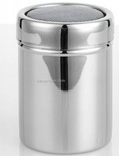 Stainless steel powdered coffee shaker