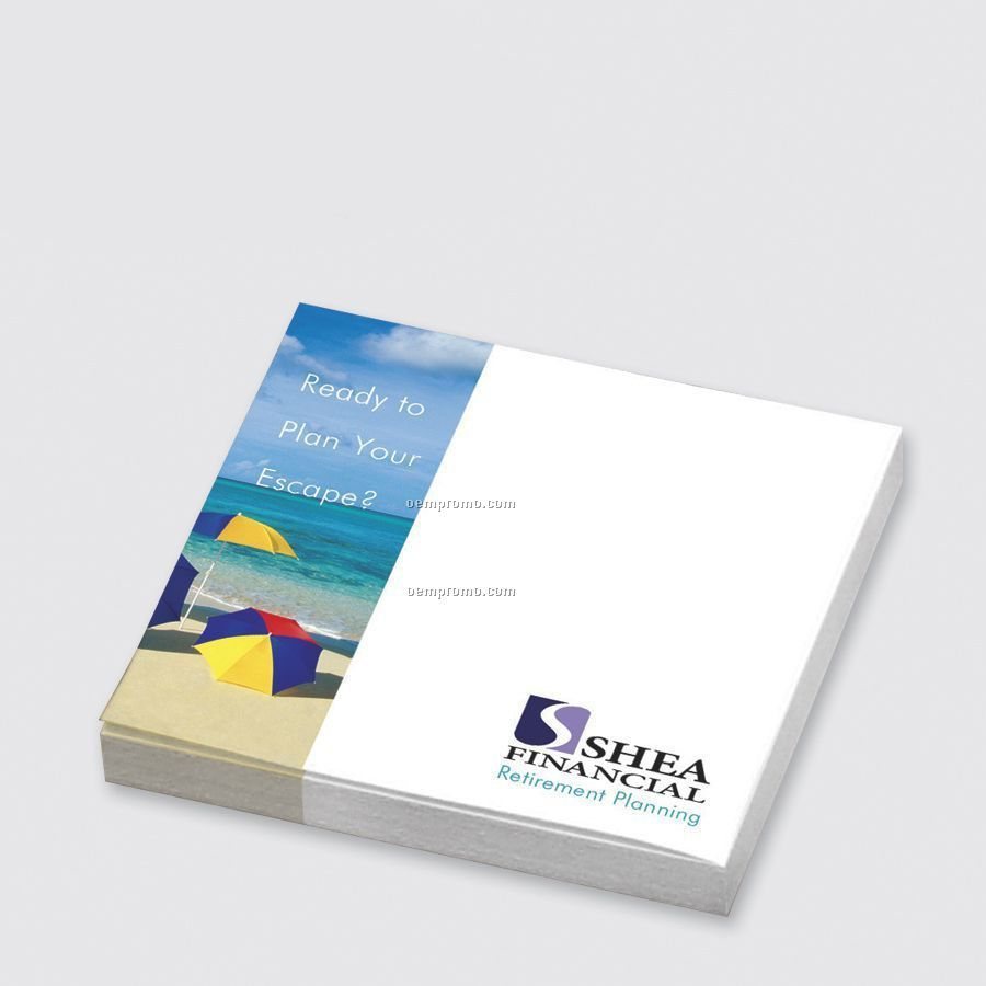 Sticky Notes Custom Printed Notepads (3