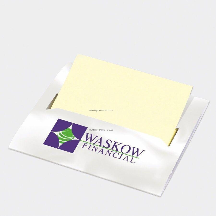 Sticky note pad Custom Printed Laptop Note Dispenser