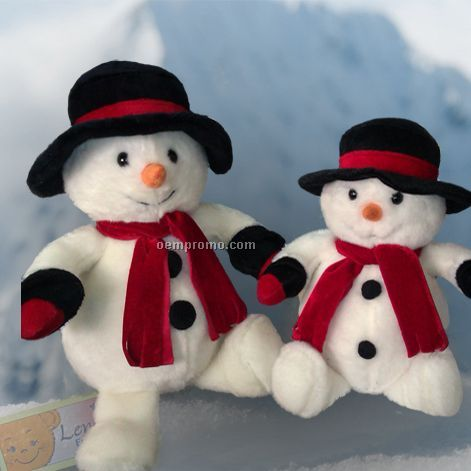 Stock Christmas Stuffed Snowman