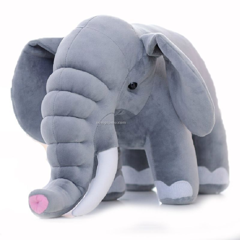 Stock Elephant Plush Stuffed Animal