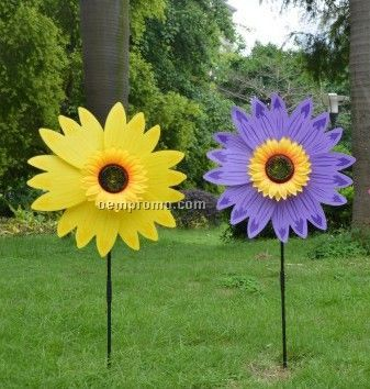 Sunflower Wind Wheel