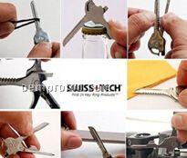 Swiss+Tech Utili-Key 6-in-1 Mini Tool