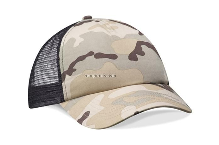 Tactical mesh cap