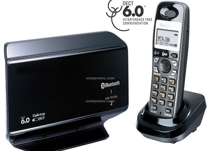 Telephone W/ Bluetooth Base & 2 Extra Handsets / Charges