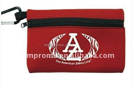 Zippered First Aid Pouch W/ Aluminium Hook