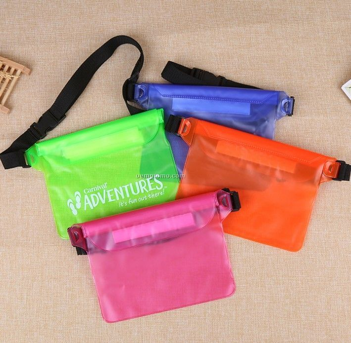 Unisex PVC waterproof fanny pack