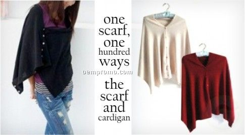Universal Scarf and Cardigan
