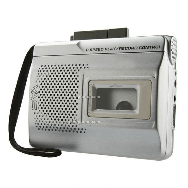 Vas Cassette Recorder W Three Speed Recording 196905 on coby portable cassette player